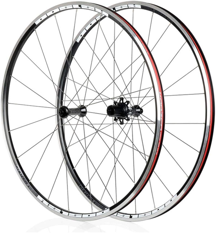 700C Cycling Wheels, Double Wall Quick Release Disc Rim Brake 7 Speed Sealed Bearings Hub Shimano & Sram 8 9 10 11s