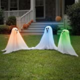 Forum Novelties Small Light-Up Ghostly Group Decoration