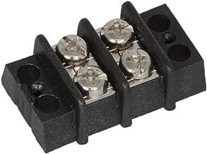 Adam Tech TDA-02 Terminal Block, 2 Position, Standard Double Row, 300VAC (Pack of 10)