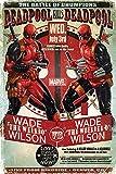 Grupo Erik Editores Poster Marvel Deadpool (Wade Vs Wade)