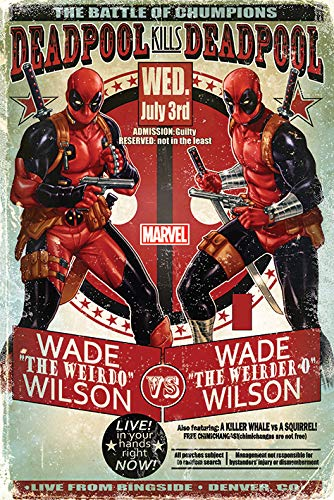 grand poster Deadpool Selfie 61 x 91,5 cm Marvel - Pyramid