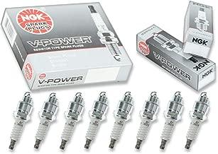 8 pcs NGK V-Power Spark Plugs for 1968-1974 Oldsmobile Cutlass 5.7L 7.5L V8 - Engine Kit Set Tune Up