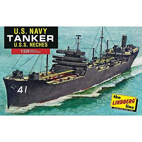 Lindberg Models ln438 0,525/1,5 cm échelle U.S.S. Neches WWII US Marine Kennebec (Classe « Plastique modèle Tanker