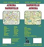 Naperville / Aurora, Illinois Street Map