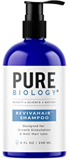Premium Hair Growth Shampoo with Biotin, Keratin, Vitamins B + E, Natural DHT Blockers..