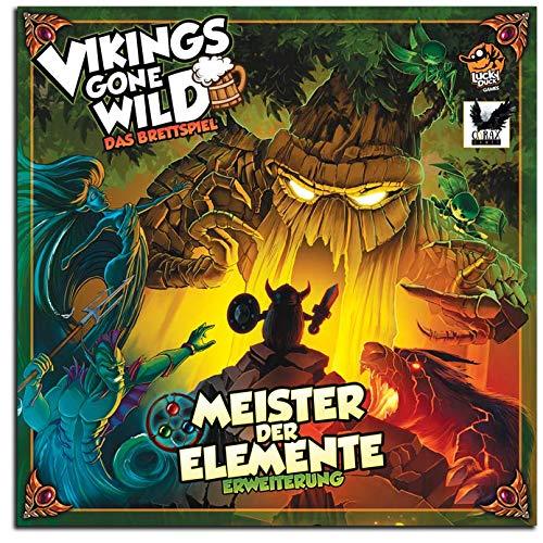 Corax Games Vikings Gone Wild - Meister der Elemente Erweiterung Brettspiel deutsch