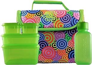 New Wave Enviro Litter Free Lunch Bag (Circles Pattern)