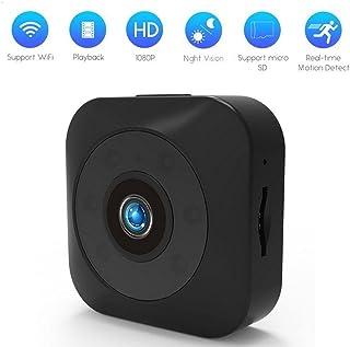 Ocamo Mini WiFi Full HD 720p Camera Back-magnetic caméscope avec vision nocturne et alarme de détection de mouvement lecture à distance