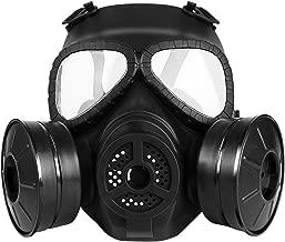 plastic gas mask