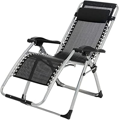 Amazon.com: Zero Gravity Silla de jardín plegable reclinable ...