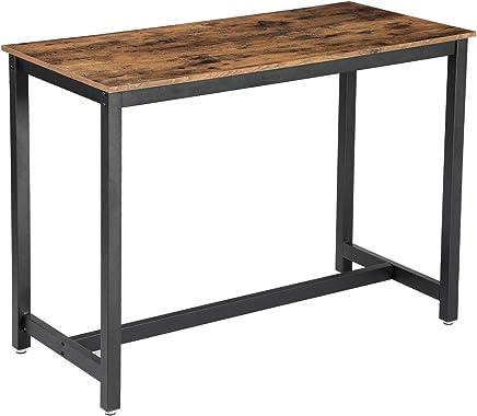 Pieds Pour Table Haute.Amazon Fr 4 Etoiles Plus Tables Bar Cuisine Maison