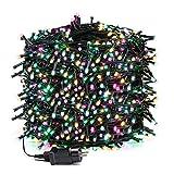 Avoalre Luz Navidad 100M 1000 LED Guirnalda Luces Cadena Luz con 8 Modos 4 Colores Guirnal...