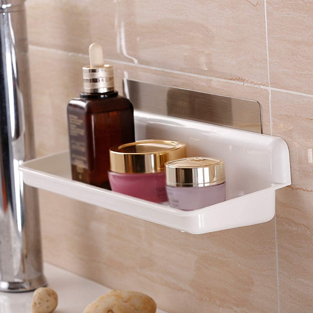 VW Pets Bathroom Shelf No Ba Drilling specialty shop Shower Caddy Brand Cheap Sale Venue Self-Adhesive
