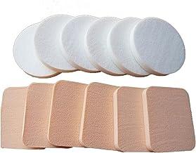MIAOMIAO 500 stks/partij Zachte reiniging Spons Gladde Gezicht Make Up Foundation Blender Powder Flawless Puff Makeup Faci...