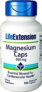 海外直送品Magnesium Caps, 500 mg, 100 Vcaps by Life Extension