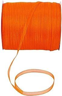 Homeford Zebra Print Polyester Wired Ribbon 10 Yards Royal Blue//Orange 2-1//2-Inch