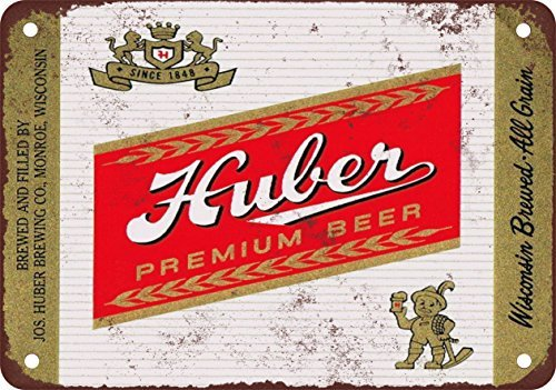 metal Signs Huber Bier Vintage Look Reproduktion Metall blechschild 30,5x 45,7cm