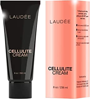 LAUDEE Cellulite Cream Anti-Cellulite Remover Treatment Lotion, Organic Skin Tightening Gel Reductor, Thighs Butt Caffeine Stomach Firming Legs Slimming Natural Fat Oil Massage Burner
