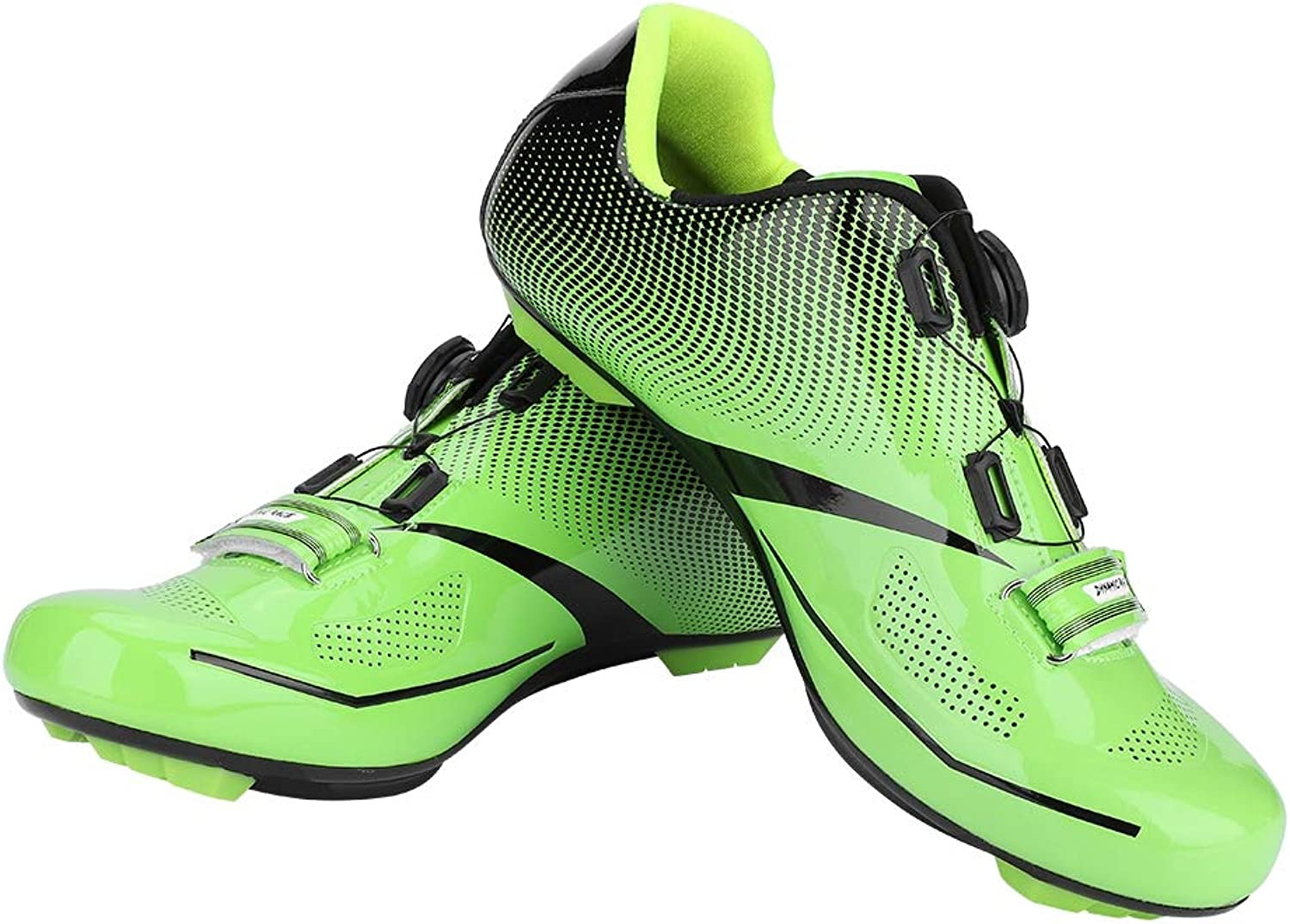 Road Cycling shoes Men, 1 Pair Breathable Road Mountain Bike shoes MTB Anti-Skid Lock System Road Bike shoes Men Adult