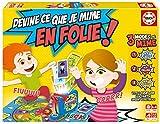 Educa- Borrás Jeu de Société-Devine Ce Que Je Mime en Folie, 16869.0, Multicolore