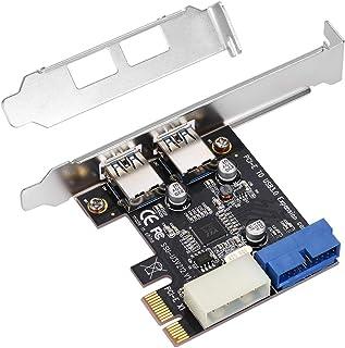 محاور يو إس بي، فائقة السرعة من كول آر سي 2 منفذ يو إس بي 3.0 PCI-E PCI Express 19-pin USB3.0 4-pin موصل IDE منخفض الشكل