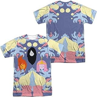 Adventure Time Pb, Fp & Marceline Men's All Over Print T-Shirt S White
