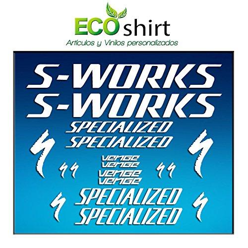 ECOSHIRT OC-J9OC-28O6 stickers frame Sworks Venge Pro Vias Am31 sticker decals sticker Bike BTT MTB Cycle wit