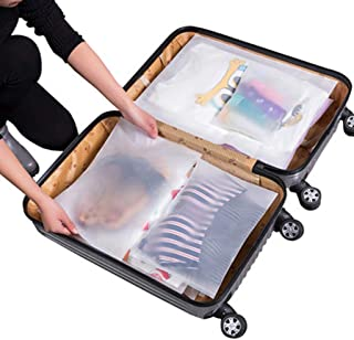 WOYAOFA Portable storage bag travel storage clothes clothing underwear finishing package transparent waterproof portable a variety of specifications classification finishing travel essential 12piece s