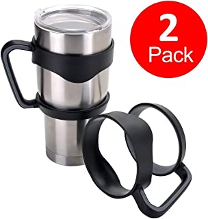 2 Pack LinkStyle 30 oz Tumbler Handle Hand Holder Grip Cup Holder for 30 Oz YETI Tumbler, Ozark Trail Tumblers, Sic Rambler Travel Cup
