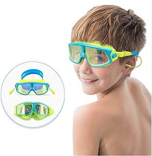 631ea13be0 kidswim niños gafas de natación para niños anti niebla UV Protección sin  fugas (azul)