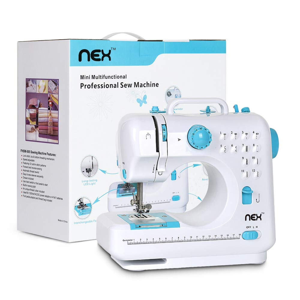 NEX Portable Machine Beginner Stitches