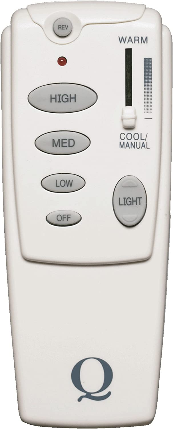 Quorum International 7-1401-0 Forward Reverse Fan Remote Control, White