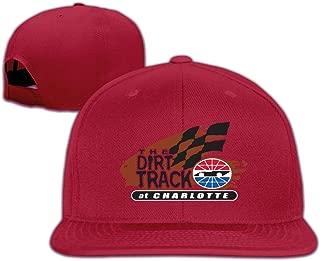 Stylish Charlotte Motor Speedway Car Racing Snapback Flat Baseball Hat Cap