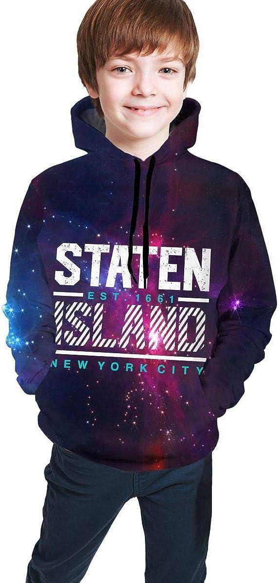 Sedide Miami Beach Teen Hoodie Sweatshirt Casual Hat Pocket Pullover Sweaters Boys Girls