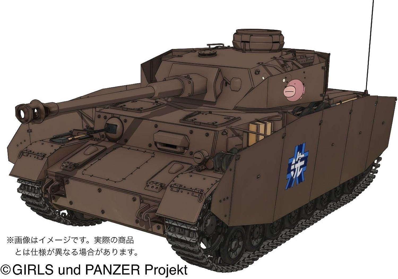Girls & Panzer IV 1 35 Panzer D Type (Type Specification H) Team Monkfish Ver. (japan import)