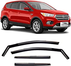 Voron Glass in-Channel Extra Durable Rain Guards for Ford Escape 2013-2019, Window Deflectors, Vent Window Visors, 4 Piece...