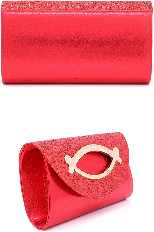 MKOIJN Clutch Evening Bag Wedding Dinner Party Clutch Shoulder Bag for Women (Color : Pink)