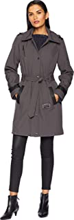 Michael Michael Kors Women's Snap Front Belted Softshell Coat M523004GZ