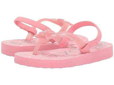 Roxy Kids Fifi II (Toddler) (Pink Carnation) Girls Shoes