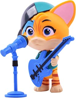 Smoby 44 Cats Lampo Figure and Guitar, 3 inch