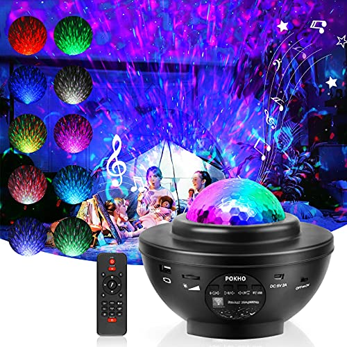 Galaxy Projector Night Light Projector for Bedroom Led Laser Star Projector...
