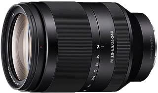 Sony FE 24-240mm f/3.5-6.3 OSS Interchangeable Full-frame E-mount Telephoto Zoom Lens - International Version (No Warranty)