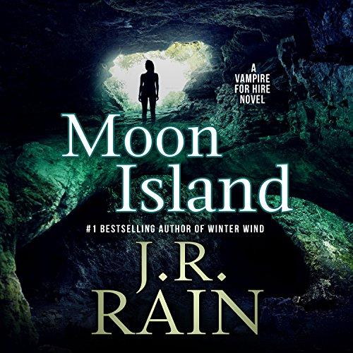 Moon Island audiobook cover art