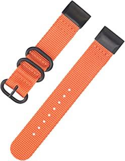 Nylon Watch Band Replacement Quickly Release NATO Watch Bracelet for Garmin Fenix 3 Fenix 5X