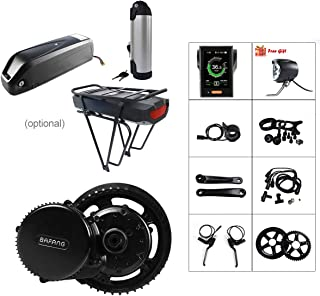 BAFANG 48V 500W BBS02B E-Bike Conversion Motor Kit DIY Electric Bike Kit with Battery and Charger - coolthings.us