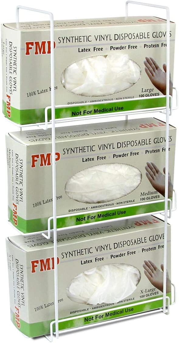 FMP Brands 10 Pack Our shop most popular Triple Wall 3 Glove Long-awaited Tissue Dispenser Mount