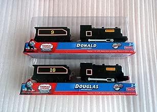 3yearskidtoys New Thomas & Friend Trackmaster Battery Train Railway Engine Douglas and Donald