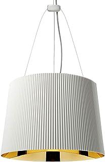 Kartell Gè, Lampe à Suspension, Blanc Or