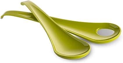 OMADA Sanaliving S2030 Paire Couverts /à Salade-Vert Citron Microban Antibact/érien