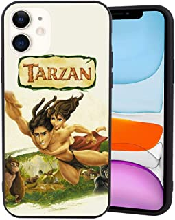 DISNEY COLLECTION Matte Corner Case Cover for iPhone 11 6.1inch Tarzán Poster